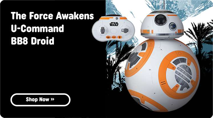 Shop All Star Wars Rogue One: BB8 RC U-Command Droid At Smyths Toys Superstores!