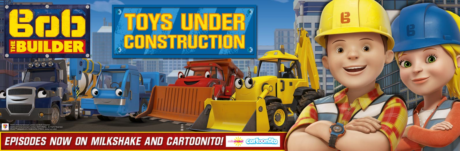 New Bob The Builder Toys will be soon available at Smyths Toys Superstores