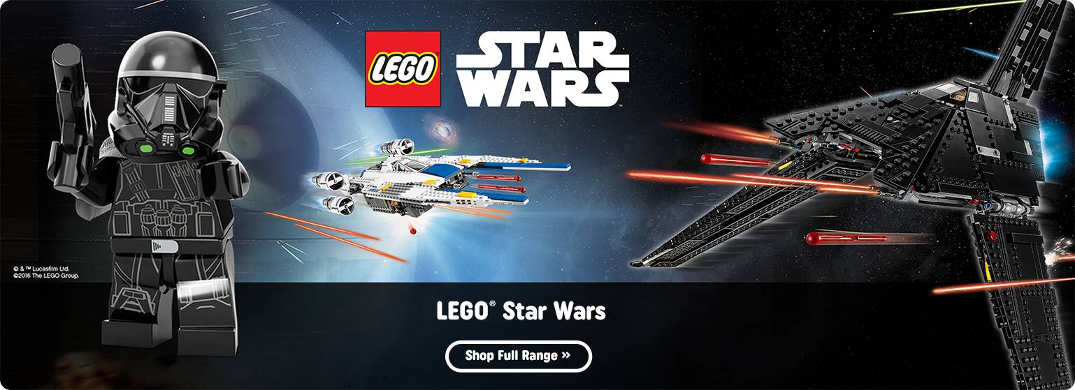 Shop All LEGO Star Wars Rogue One At Smyths Toys Superstores!