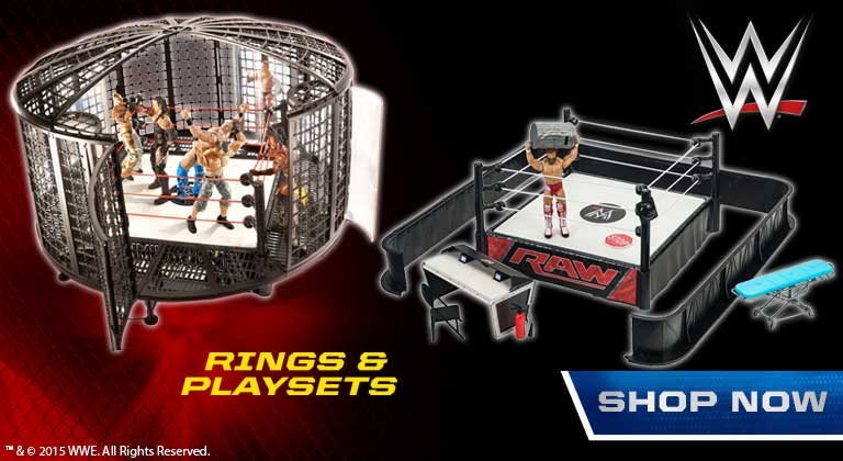 WWE Rings and Playsets