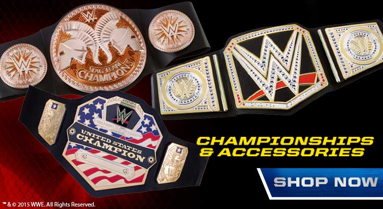 WWE Championships and Accessories