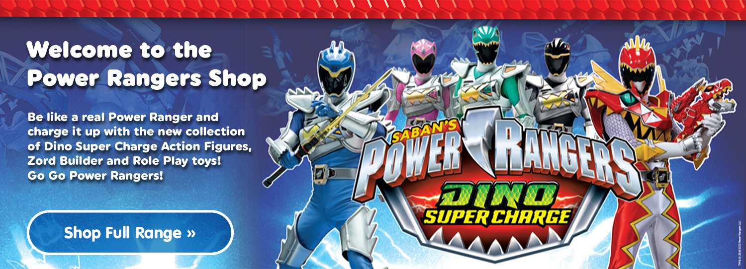 Shop All Power Ranger Dino Super Charge At Smyths Toys Superstores!