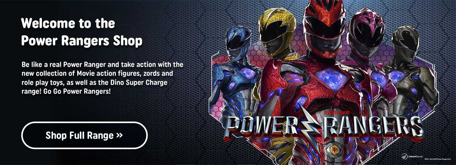 Shop All Power Rangers At Smyths Toys Superstores!