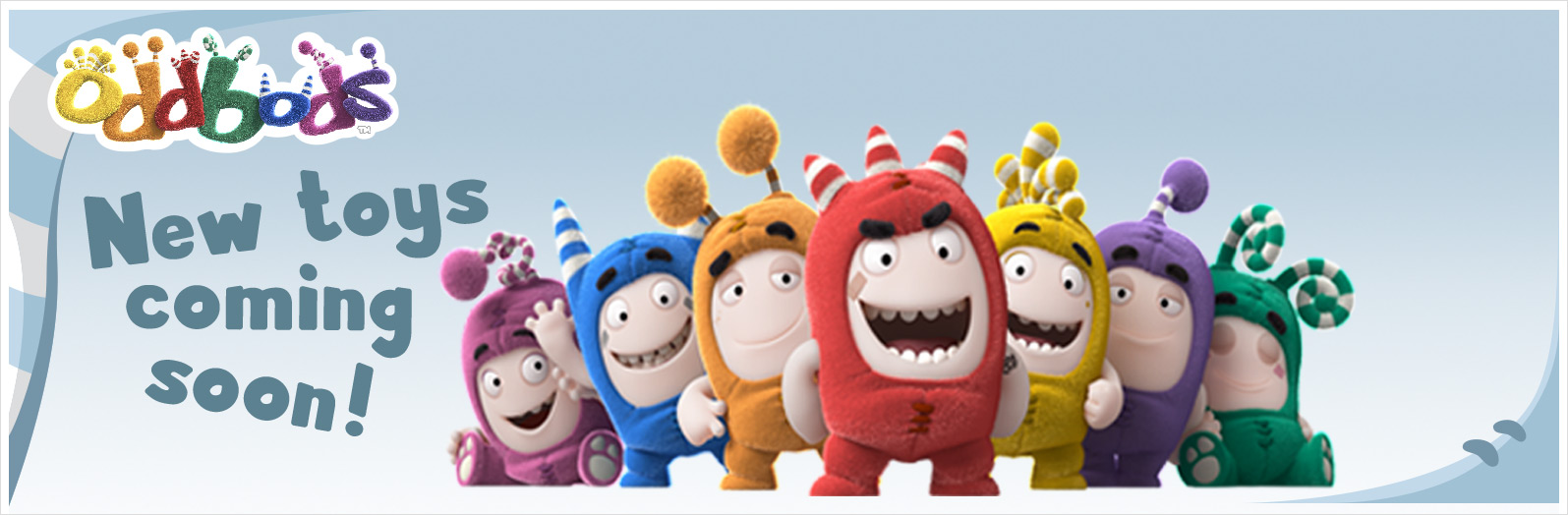 New Oddbods Toys will be soon available at Smyths Toys Superstores.