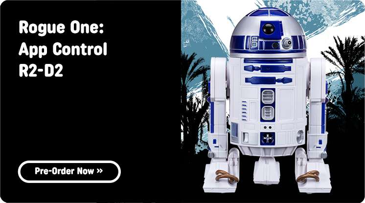 Shop All Star Wars Rogue One: R2D2 Droid At Smyths Toys Superstores!