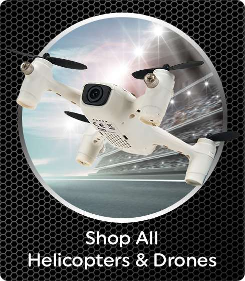 Full Range of Radio Control Drones and Helicopters At Smyths Toys Superstores!