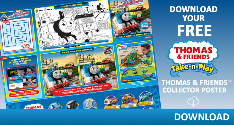 Thomas and Friends activities