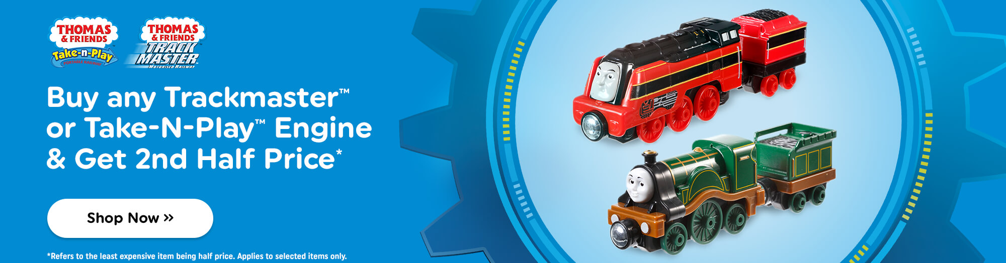Shop All Thomas and Friends At Smyths Toys Superstores!