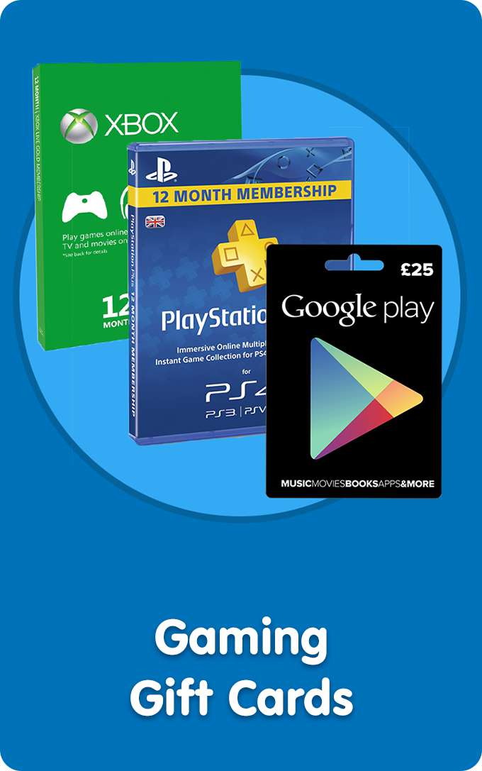 Shop All Video Games & Tablets Gift Cards At Smyths Toys Superstores!