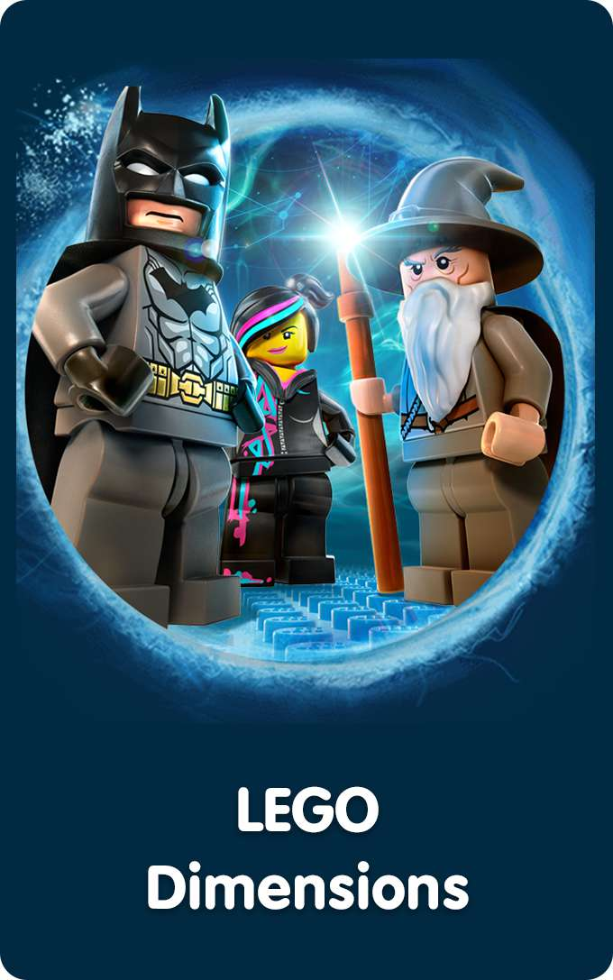Shop All LEGO Dimensions Video Games & Tablets At Smyths Toys Superstores!