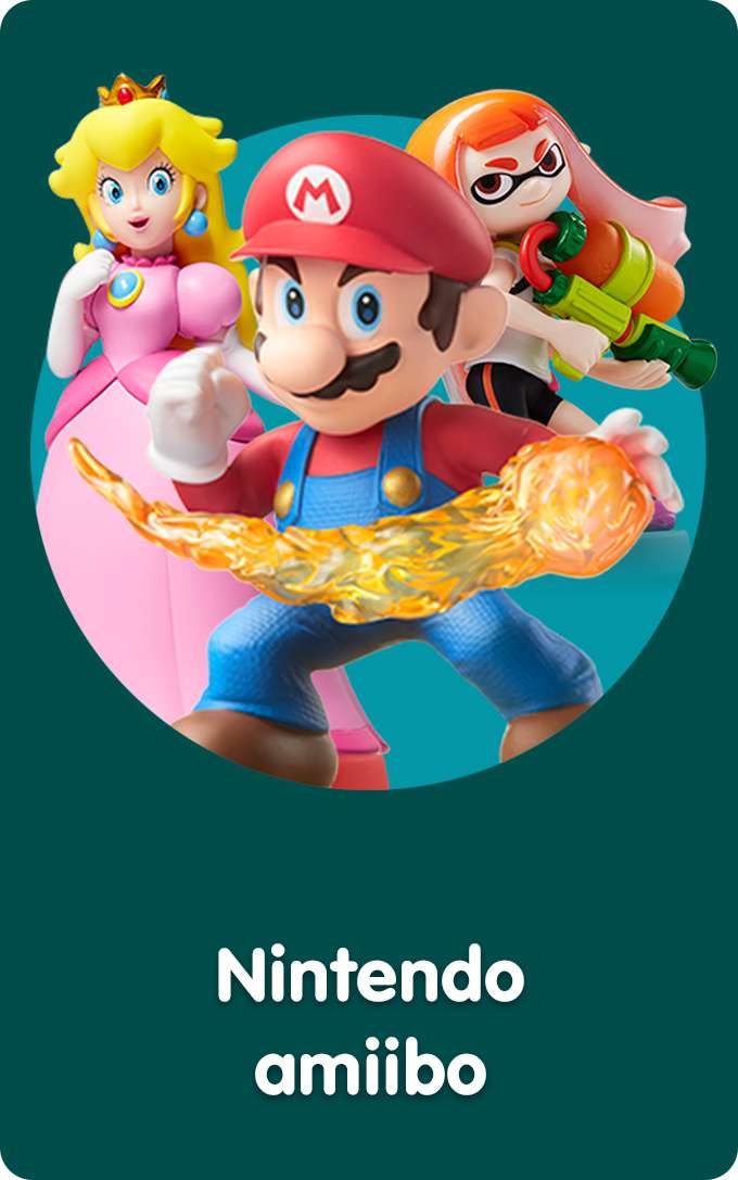 Shop All Nintendo amiibo Video Games & Tablets At Smyths Toys Superstores!