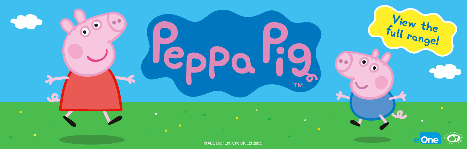 Welcome to the Peppa Pig Shop at Smyths Toys Superstores!