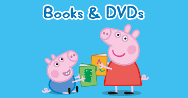 Peppa Pig Books and DVDs