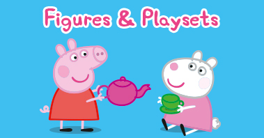 Peppa Pig Figures and Playsets