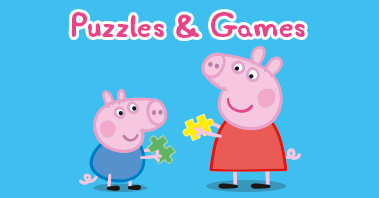 Peppa Pig Puzzles and games