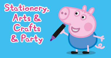 Peppa Pig Stationery, Arts, crafts and party