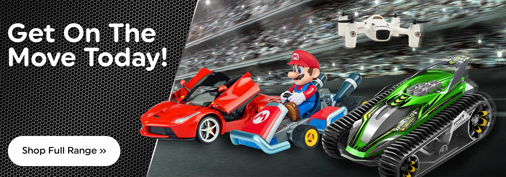 Full Range of Radio Control Cars and Helicopters At Smyths Toys Superstores!