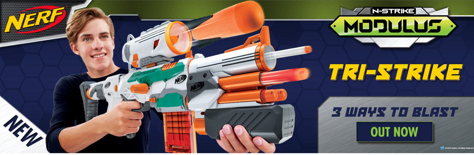 Shop All NERF At Smyths Toys Superstores!